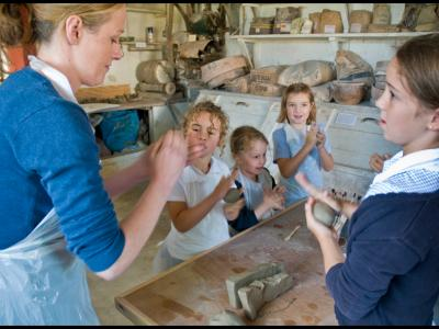 Learning at the Leach Pottery