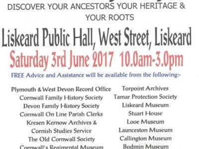 Grand Family History Day