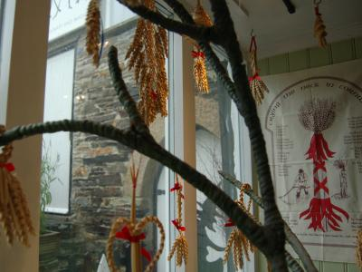 New window display at the Museum of Witchcraft and Magic, Boscastle