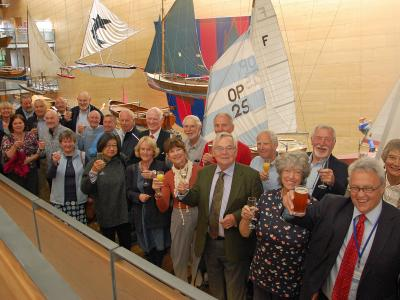 Maritime Museum Volunteers Celebrate Five and Ten Years of Service