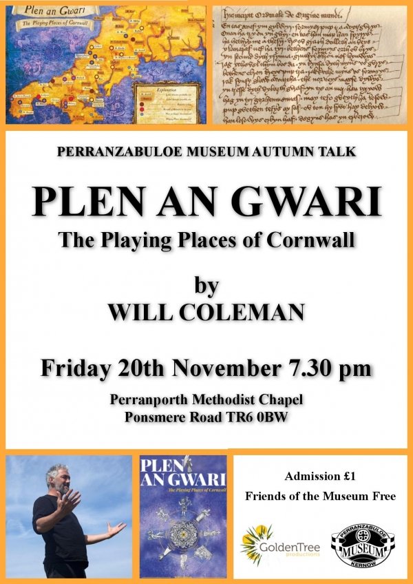 The Playing Places of Cornwall by Will Coleman