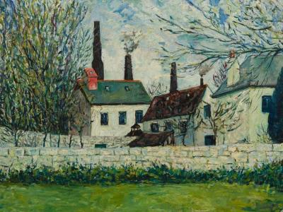 New Acquisition: Adrian Ryan's 'Coombe Valley Factory'