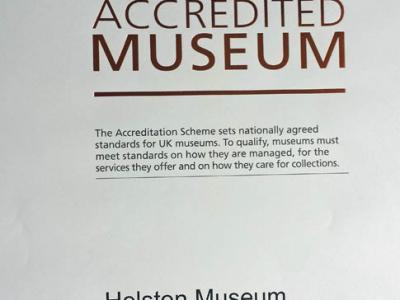 Helston Museum achieves Accreditation