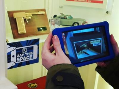 Liskeard Museum gets Augmented Reality!!