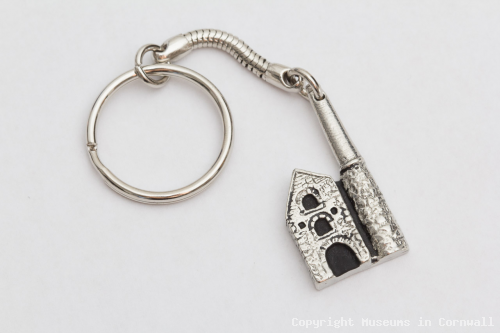Key Ring   Mine Engine House, Pewter product photo