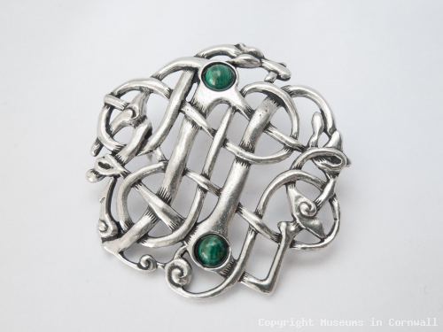 Brooch , Pewter product photo